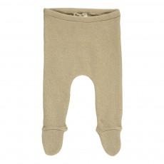 Pantalon Pieds Beige