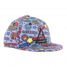 Casquette Marvel All Over Mavel Gris