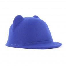 Chapeau Oreilles Roof Bleu roi