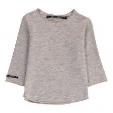 T-Shirt Micromodal Millo Gris chiné