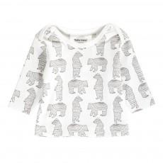 T-Shirt Ours Mu Blanc