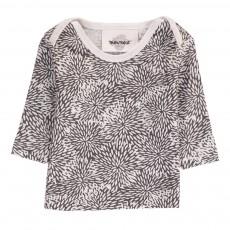 T-Shirt Oursins Mu Blanc