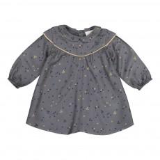 Robe Trèfles Eglantine Bleu gris