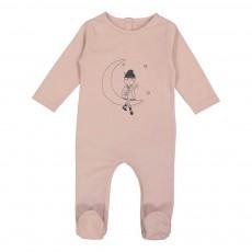 Pyjama Louisette Lune Maxou Rose pâle