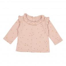 T-Shirt Cœurs Doria Rose pâle