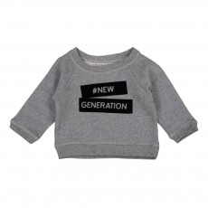 "Sweat ""New Generation"" James Gris chiné"