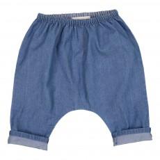 Sarouel Chambray Jungle Bleu jean