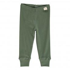 Legging Coton Bio Vert sapin
