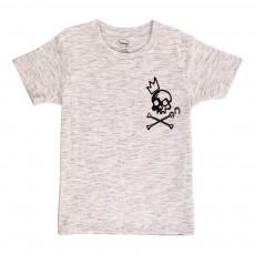 T-Shirt Pirates Gris chiné