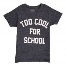 T-Shirt Too Cool For School Mess Bleu marine