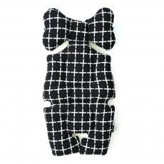 Coussin confort bébé Mono cross croix Noir