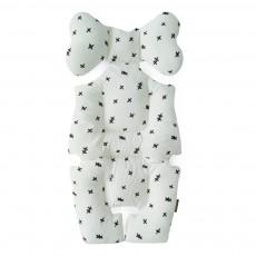 Coussin confort bébé croix Blanc