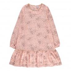 Robe Cœurs Façon-Soie Renaty Rose pâle