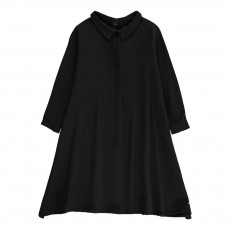 Robe Lien Col Noir
