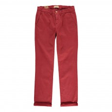 Chino Slim Rouge brique