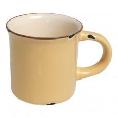 Mug en céramique style émail Jaune