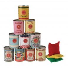 Jeu du chamboule-tout vintage Multicolore