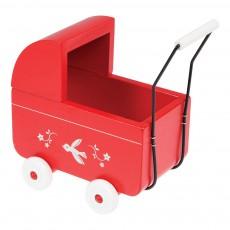 Mini-landau en bois rouge