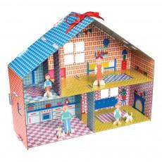 Kit pour construire sa maison de poupée Multicolore