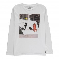 T-Shirt Photoprint Chase Blanc