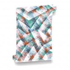 Papier-peint Bohème Tender 364x280 cm - 4 lés Vert