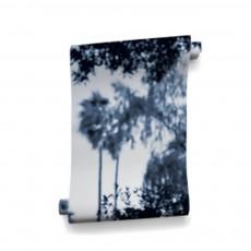 Papier-peint Palermo 364x280 cm - 4 lés Bleu