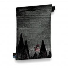 Papier-peint Carpates 364x280 cm - 4 lés Noir