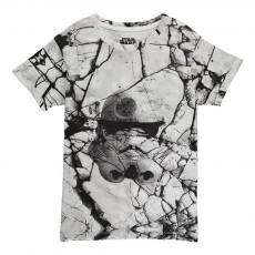 T-Shirt Oversize Listorm Blanc