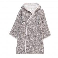 Peignoir Kimono Oursins Pépin Blanc