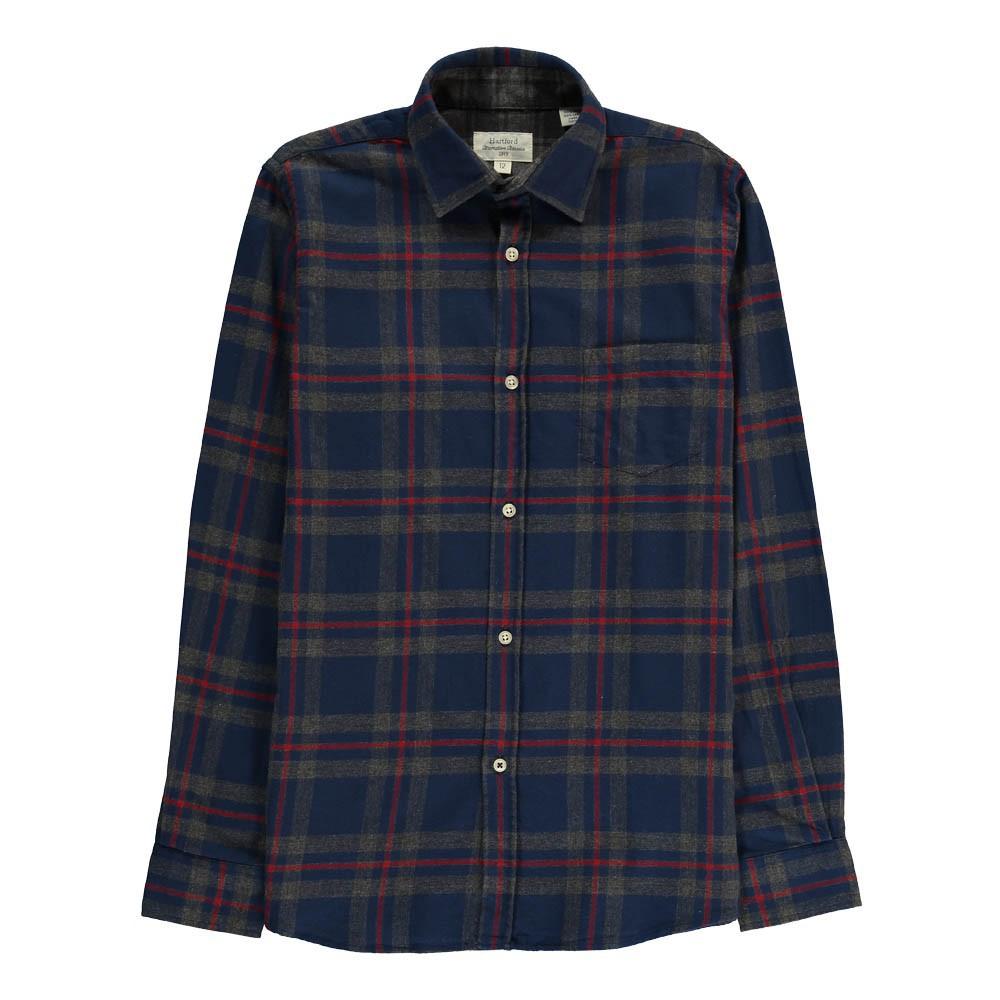 chemise flanelle grands carreaux paul bleu hartford mode ado gar on smallable. Black Bedroom Furniture Sets. Home Design Ideas