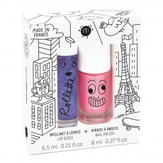 Duo rollette et vernis lovely city Multicolore