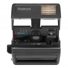 "Polaroid™ 600 Camera 80s style ""Square"" Noir"