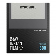 B&W Film for 600 avec bords noir