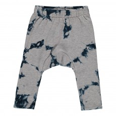 Jogger Sarouel Tie and Dye Ink Bottle Gris