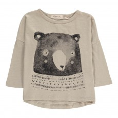 T-shirt Ours Gris clair
