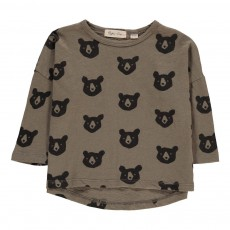 T-shirt Ours Allover Gris