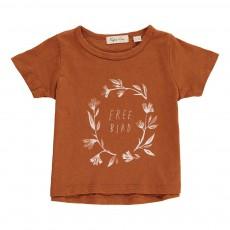 T-shirt Free Bird Rouille