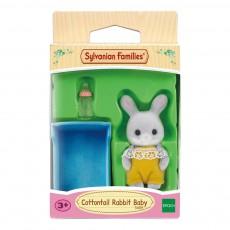 Bébé lapin gris Gris