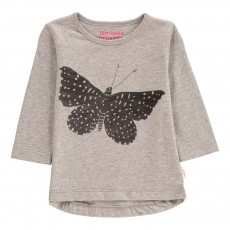 T-Shirt Papillon Flight Gris chiné