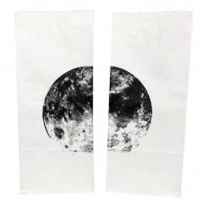 Sac en papier Planètes - Set de 2 Blanc