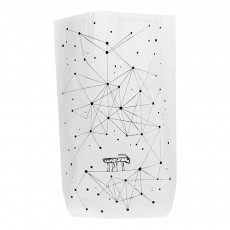 Sac en papier Constellation Blanc
