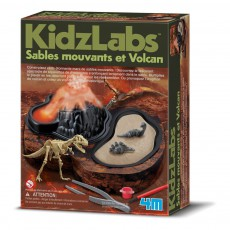Kit sables mouvants et volcans Multicolore