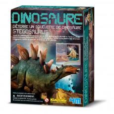Kit déterre ton dinosaure Stégosaure Multicolore