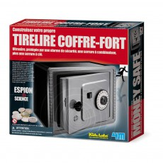 Tirelire coffre-fort Multicolore