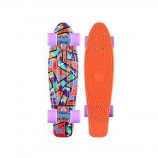 Skateboard Graphic 22' Spike Orange