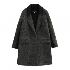 Manteau Ebba Gris anthracite