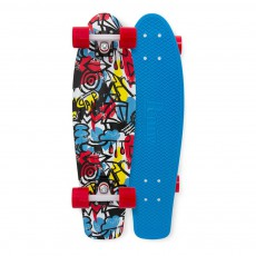 Skateboard Comic Fusion 27' Multicolore