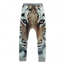 Legging Baggy Tigre Coton Bio Beige