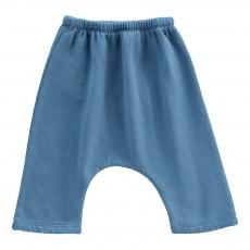 Sarouel Molleton Coton Bio Cedar Bleu