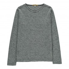 T-Shirt Rayé Toure Gris